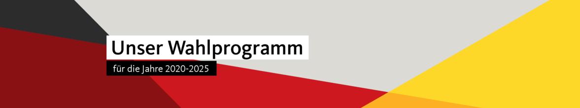 Wahlprogramm 2020-2025